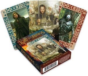 Lord of the Rings Heroes and Villains  set of 52 playing cards (+ jokers) (nm)