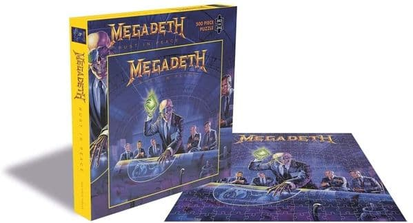 Megadeth Rust In Peace 500 piece jigsaw puzzle 410mm x 410mm (ze)