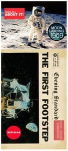 Moon Landing 1969 Replica Newspaper  (mp)
