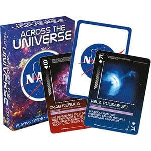 NASA Across the Universe set of 52 + jokers  playing cards   (nm)