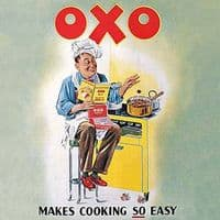 Oxo makes Cooking Easy drinks mat / coaster  (hb)