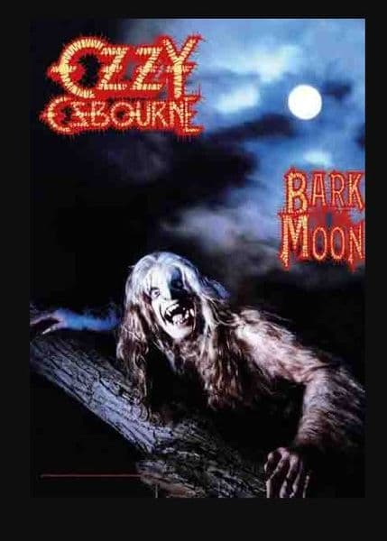 Ozzy Osbourne Bark At The Moon Large Textile Poster 750mm x 1100mm (hr)