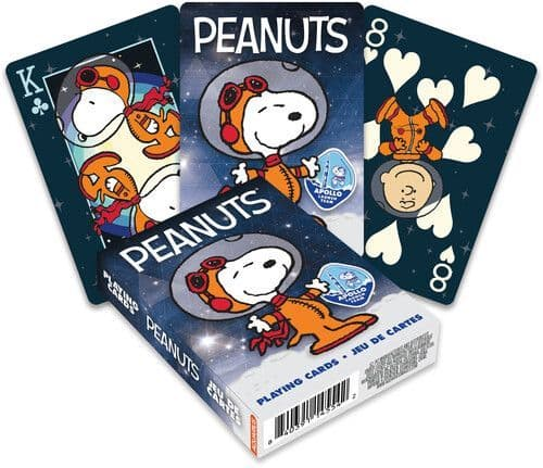 Peanuts Space set of 52 playing cards (+ jokers) (nm)