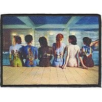 Pink Floyd Back Art iron-on /  sew-on embroidered patch 100mm x 75mm  (cv)