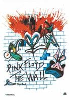 Pink Floyd The Wall large fabric poster/ flag 1100mm x 750mm  (hr)