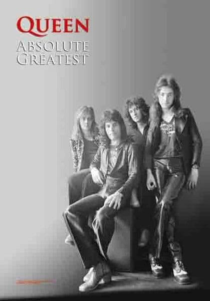 Queen Absolute Greatest Large Fabric Poster/Flag 1050mm x 750mm (hr)