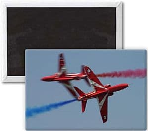 Red Arrows Crossing fridge magnet  (se)