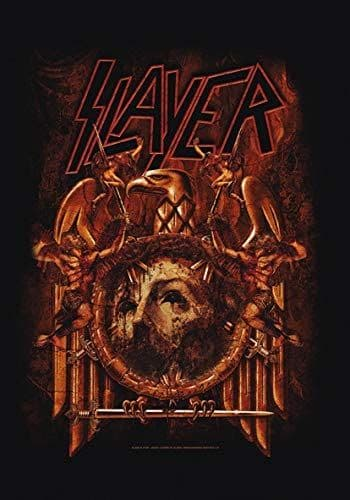 Slayer Decade of Aggression Repentless large fabric poster / flag 1100mm x 750mm (hr)
