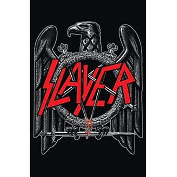 Slayer large fabric poster / flag 1100mm x 750mm (rz)