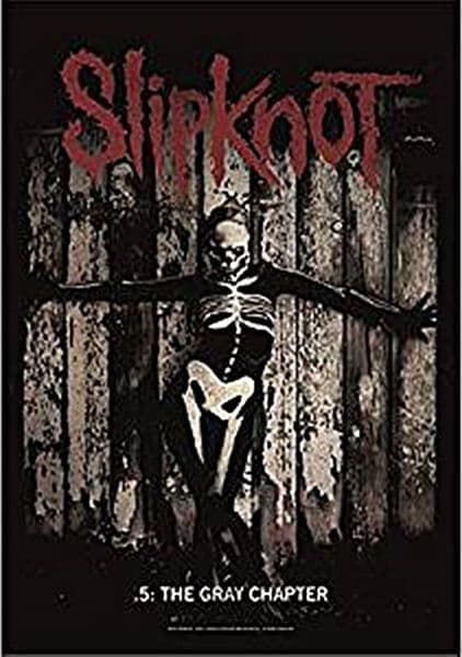Slipknot The Gray Chapter large fabric poster/ flag 1100mm x 750mm  (hr)