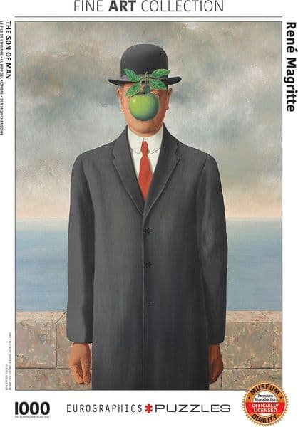 Son of Man by Magritte 1000 piece jigsaw puzzle  680mm x 490mm (pz)