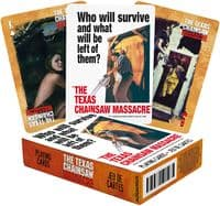 Texas Chainsaw Massacre Who Will Survive set 52 playing cards + jokers (nm52745)