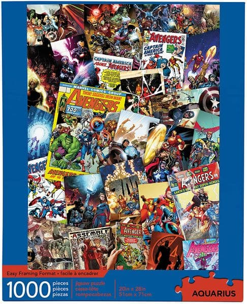 The Avengers Collage  1000 piece jigsaw puzzle  710mm x 510mm (nm)