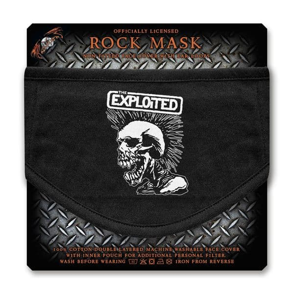The Exploited Face Mask (rz)
