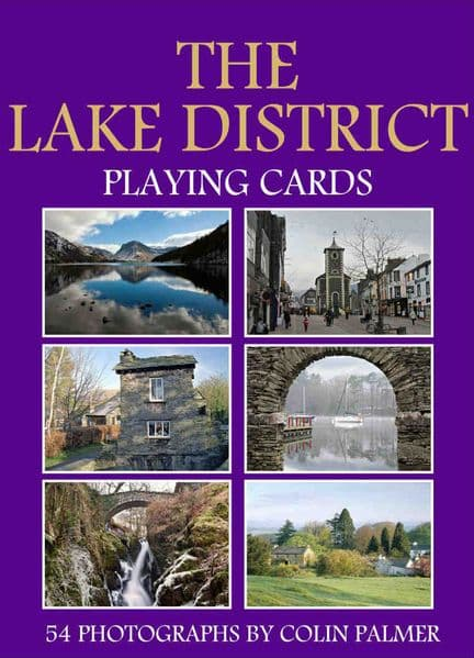 The Lake District set of 52 + jokers  playing cards  (hpc)