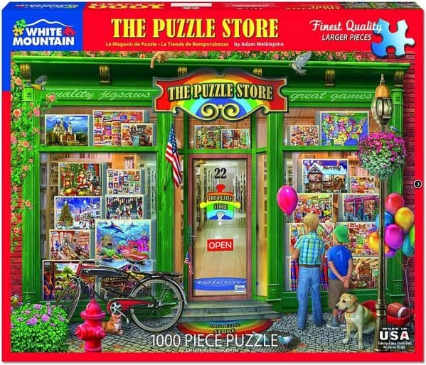 The Puzzle Store 1000 Piece Jigsaw Puzzle 760mm x 610mm  (wmp)