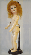 Bleuette Wooden Doll Stand