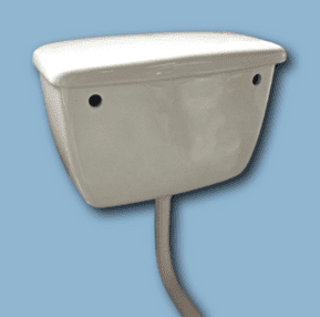 Old size LOW LEVEL WC WATER CISTERN (white)