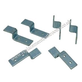 Underslung basin fixing brackets ( set of six )
