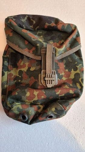 Flecktarn waterbottle  pouch