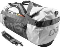 Overboard Waterproof 90Ltr Adventure Bag Features removable backpack straps Usage Made of tough PVC tarpaulin and with a heavy duty