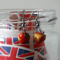 Apple Dangle Earrings