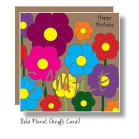 Bold Floral Card