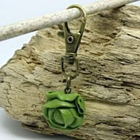 Brussels Sprouts Bag Charm / Zipper Pull