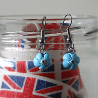 Forget me Not Dangle Earrings