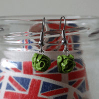 Lettuce Dangle Earrings