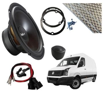 Feelart SQ6.5e Plug and Play Kit VW Crafter  speaker upgrade