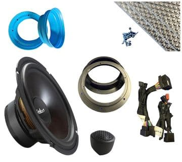 Feelart SQ6.5e Plug and Play  VW Crafter speaker upgrade