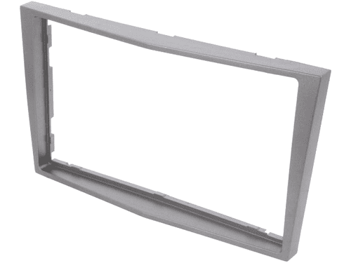 Radio mounting frame; Opel; 2 DIN; anthracite