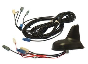 SHARK FIN antenna for DAB, FM and GPS