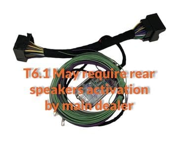 T6 & T6.1 PLUG & PLAY PREOUT (With Rear Speakers )