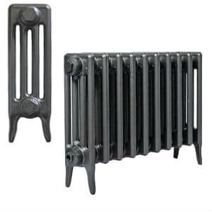 460mm Neo Classic 4 column Cast Iron Radiators available in a range of paint and polished finishes