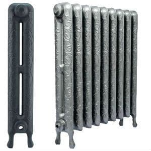 Art Nouveau Cast Iron Radiators 750mm