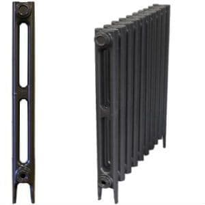 Bauhaus 2 Column Cast Iron Radiators 750mm
