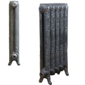 660mm bloomsbury cast iron radiator