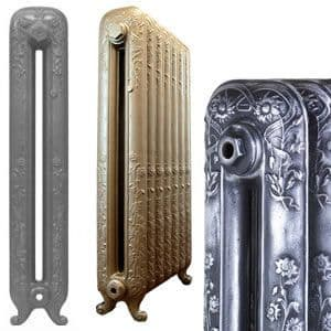 780mm Daisy Cast Iron Radiators assembled to your exact requirements