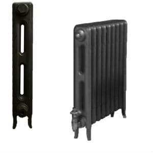 Cast Iron Radiators from our Edwardian 2 Column Series are available in 3 heights