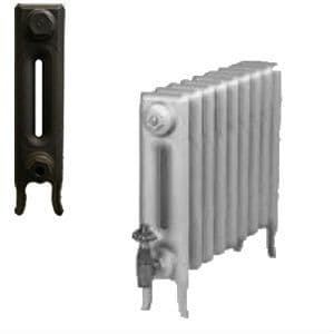 Edwardian 2 Column Cast Iron Radiators 460mm assembled to your exact requirements