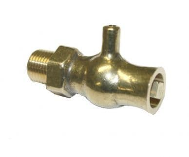 Luxury  Bleed Valve - Brass