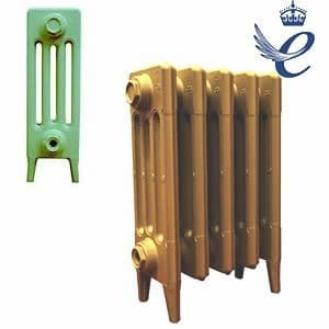 Queens 4 Column Cast Iron Radiators 460mm
