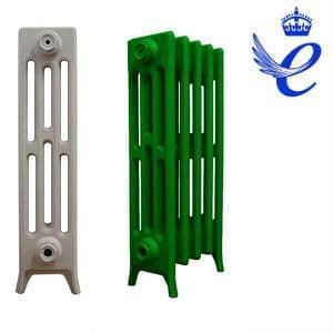 Queens 4 Column Cast Iron Radiators 660mm