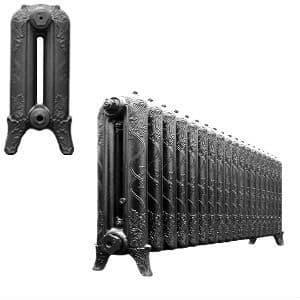 Cast Iron Radiators from our Ribbon Range are assembled and finished to your exact requirements