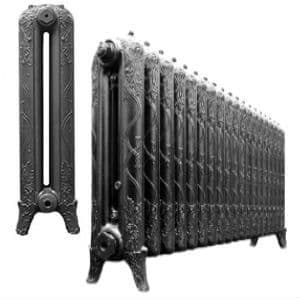 Ribbon 760mm Cast Iron Radiators assembled and finished to your exact requirements