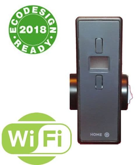 Wifi Controlled Electric Heating Element - Matt Black