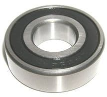 Ball bearing for front of camshaft, behind pulley.