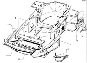 Chassis and structure: Front part